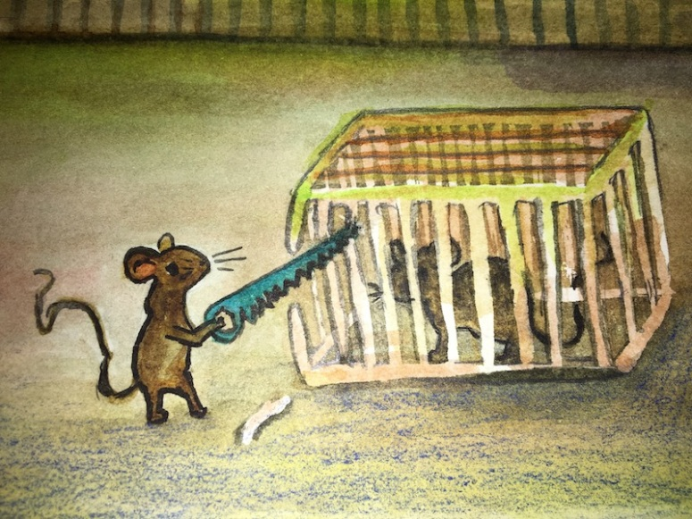 Hacksaw Mouse